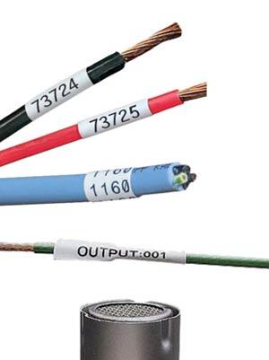 Heat Shrink Wire Labels with Heat Gun