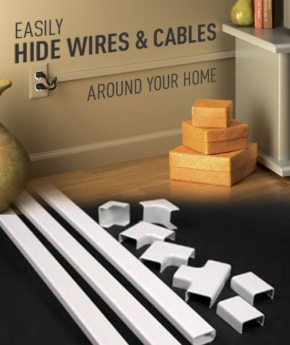 Cord and wire channels