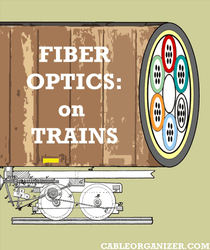 fiber optics on trains