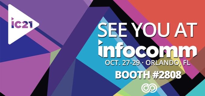 See you at InfoComm