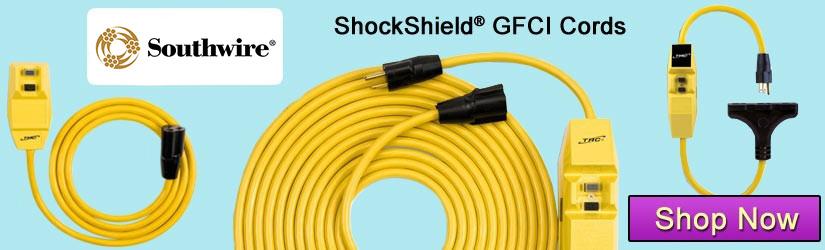 southwire ShockShield GFCI extension cords