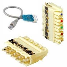 110 block, wiring block, 100 wiring system