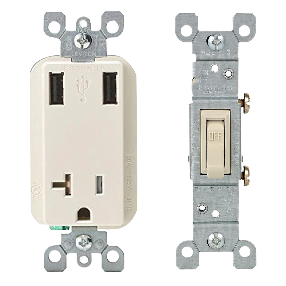 Outlets, Switches, & Boxes
