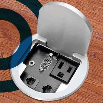 Desk Outlets & Grommets