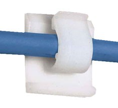 cable clip holding patch cable