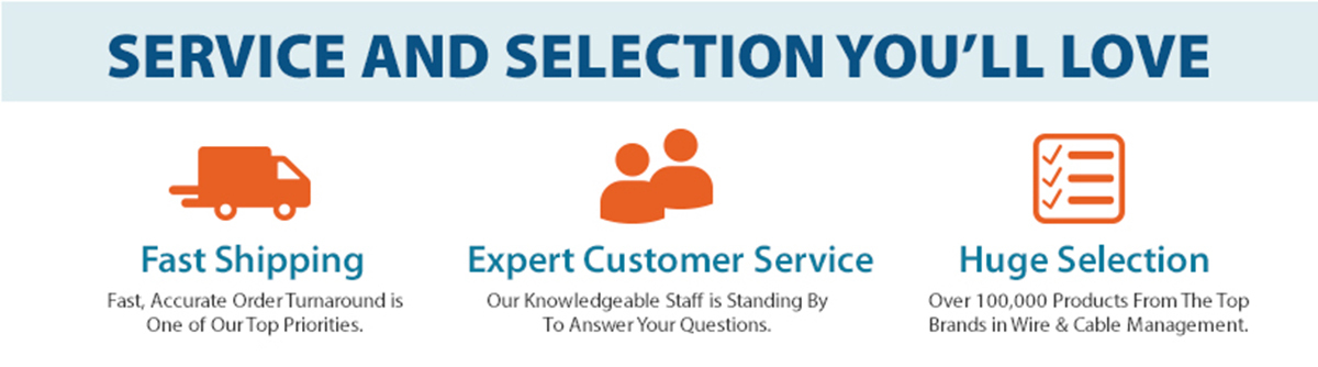 service and selection