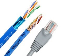 5m Length Color : Color4 CHENZHIQIANG Network Accessories LAN Cable Tools CAT6E LAN Network Cable