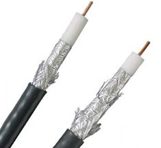 coaxial cable termination detail