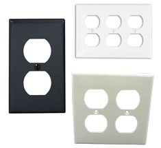 electrical wall plates single and multi gang
