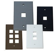 keystone wallplates and faceplates