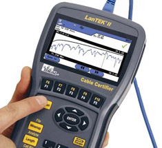 network testers, lan tester, fiber tester, coax testers