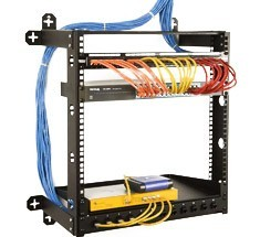 Wall Mounted Enclosures Racks And Server Cabinets Cableorganizer Com