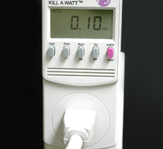 energy cost/consumption meters