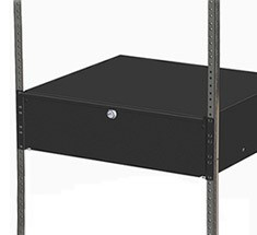 rackmount drawers for storage and security