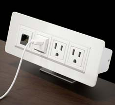 Removable Desk Outlets