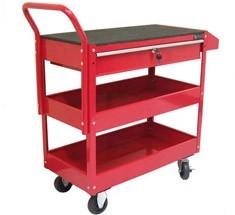 rolling metal tool cart