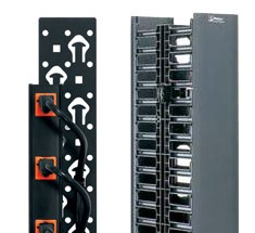 vertical cable managers, vertical management