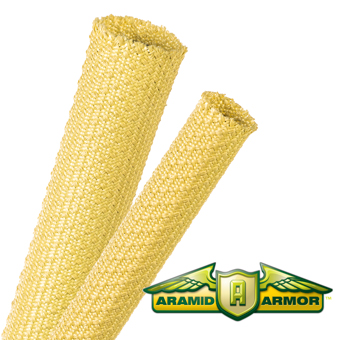 Aramid Armor® Extreme Duty Expandable Cable Sleeving