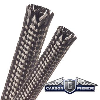 Carbon Fiber Heavy Braided Sleeving