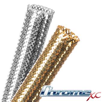 Flexo® Chrome XC Expandable Braided Sleeving