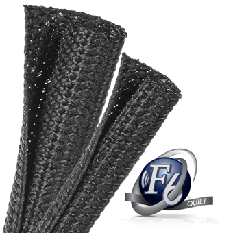 F6 Quiet Noiseless Braided Sleeving