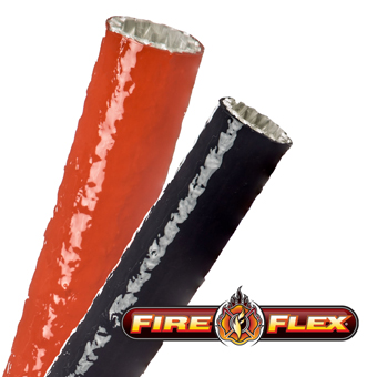 FireFlex Industrial Fire Resistant Fiberglass Cable Sleeves