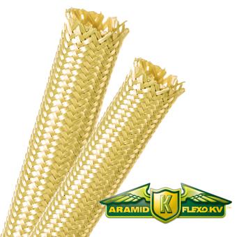 Kevlar® (KV) Expandable Braided Sleeving