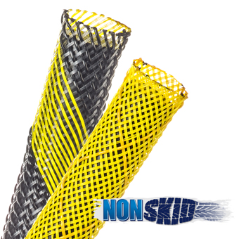 Non-Skid Expandable Braided Sleeving