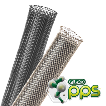 Flexo PPS Chemical-Proof Expandable Braided Sleeving