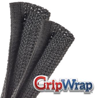 GRIP WRAP Adjustable-Diameter Braided Sleeving