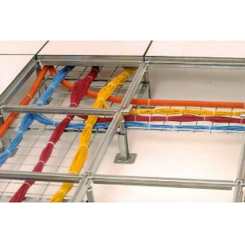 Raised Floor Cable Tray System