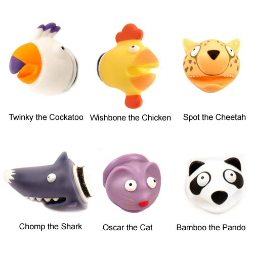 02-rooster-chicken-cheetah-shark-cat-panda