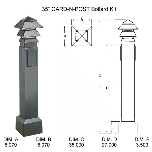 07-bollard-post-kit-dimensions