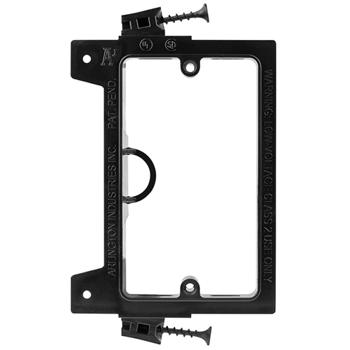Screw In Low Voltage Mounting Brackets for New Construction