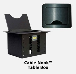 Cable-Nook™ Table Box