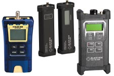 Black Box fiber optic testers