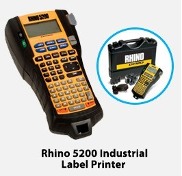 Rhino 5200 Industrial Label Printer