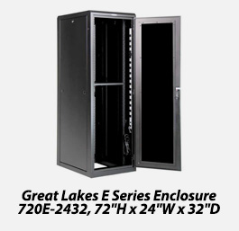 E series enclosure 720E-2432