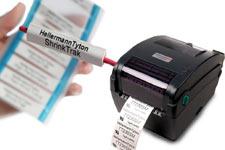 HellermannTyton label printers, shrinktrak labels