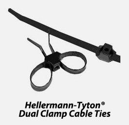 Dual Clamp Cable Ties