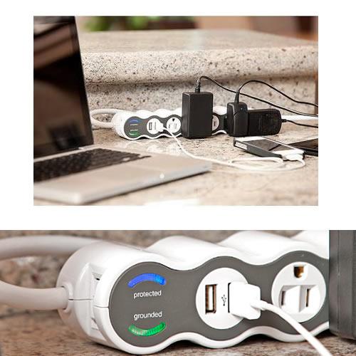 PowerCurve USB & power surge protector - icon
