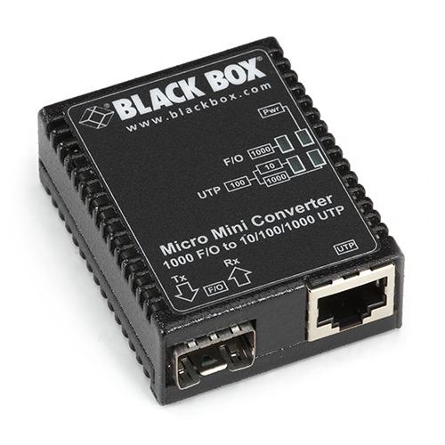 Micro Mini Media Converter Gigabit Ethernet SFP