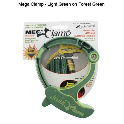 Mega Cable Clamp in green