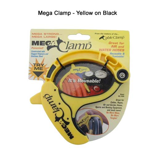 Mega Cable Clamp in yellow