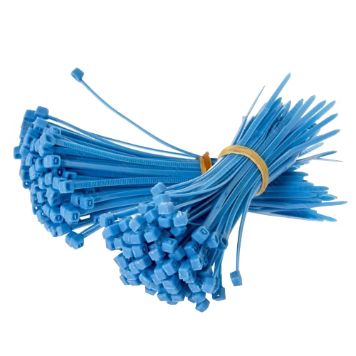 Blue cable ties - icon