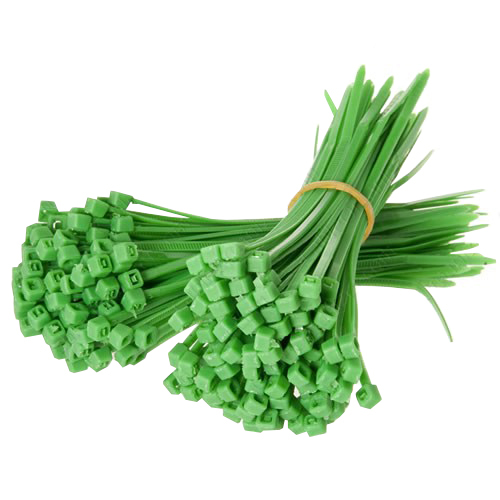 Green cable ties - icon