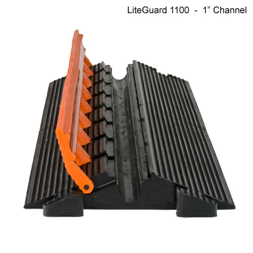Lite Guard 1100, cover open
