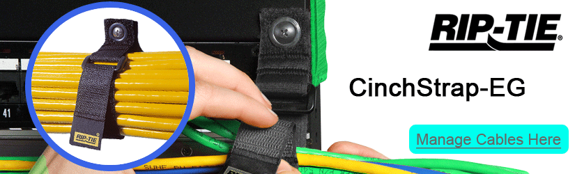 Rip-Tie CinchStrap-EG heavy duty cable wraps