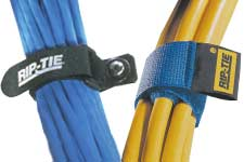Rip-Tie cable wraps, econocinch wrap