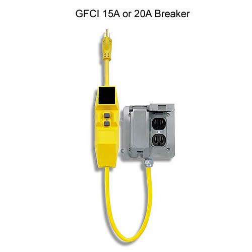 Southwire ShockShield GFCI 15a or 20a breaker icon